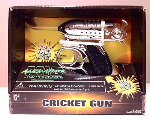 Men In Black Alien Attack : Noisy Cricket Toy Movie Replica with Sound & Light Effects -