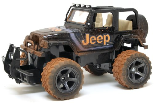 New Bright RC F/F 6.4V Mud Slinger Jeep Wrangler Vehicle,...