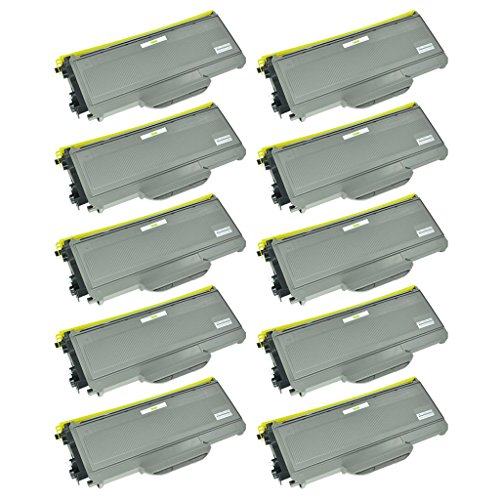 SuperInk 10PK New Compatible With Brother TN360 TN330 Bla...