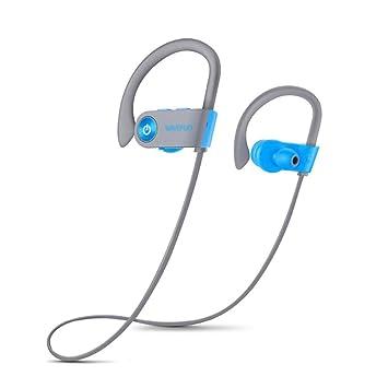 Auriculares Bluetooth IPX7 A Prueba De Agua, Auriculares Inalámbricos Deportivos Hifi Super Bass HD Auriculares