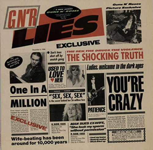 GN'R Lies (Roses Vinyl And Guns)