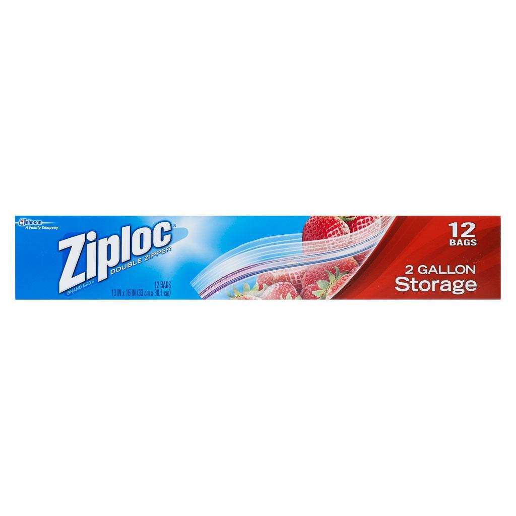 Amazon Com Ziploc Storage Bags 2 Gallon 12 Count Pack