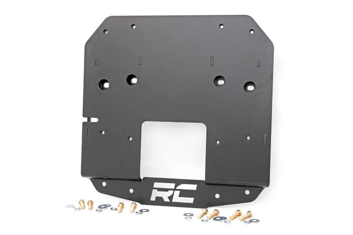 Rough Country Jeep Spare Tire Relocation Bracket 2018-2019 Jeep Wrangler JL