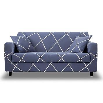 Amazon.com: HOTNIU Funda de sofá elástica estampada - 1 ...