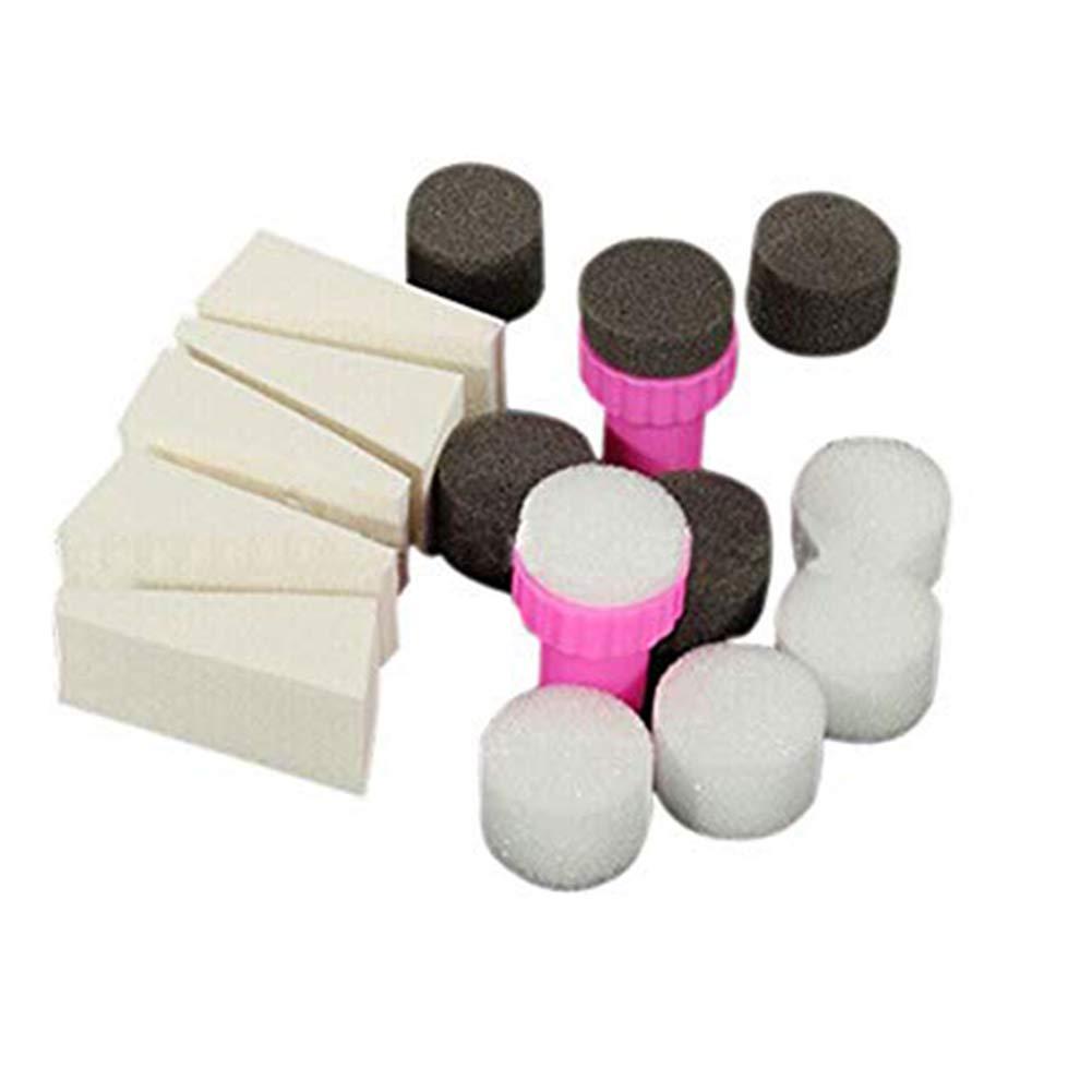 esponjas para uñas degradadas