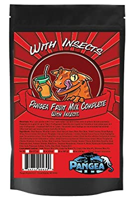 Pangea Fruit Mix With Insects Crested Gecko Complete Diet 1/2 lb by Pangea