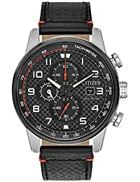 CA0681-03E Primo Mens Watch Black 45mm Stainless Steel
