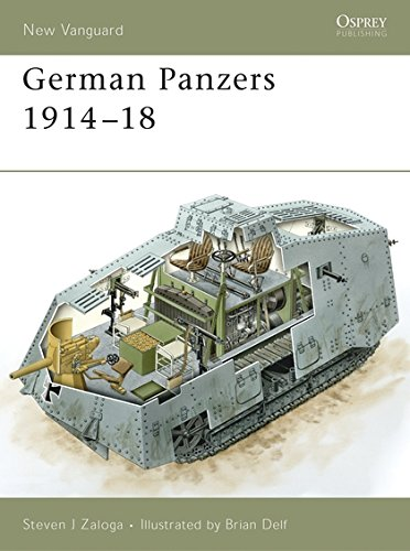 German Panzers 1914–18 (New Vanguard)