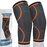 MODVEL 2 Pack Knee Compression Sleeve | Knee Brace