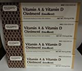 Fougera Vitamin A & D Ointment 4oz Tube 4 Pack