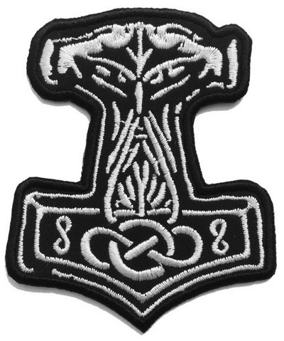 Thor's Hammer patch (Hammer Motorcycle)