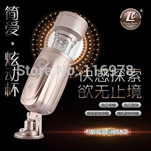 LKFDZ Adult Toys New Telescopic Lover 2 Automatic Sexxxf Machine Rotating and Retractable Electric Male Masturbators Tshirt Sexxxf Toys for Men by LKFDZ (Image #3)