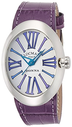 LOCMAN watch change Donna quartz belt 3 with this ladies 0410 041000AGVTBLPSV-W-B Ladies