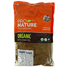 Pro Nature 100% Organic Jaggery Powder 14.1 Ounce - USDA Certified