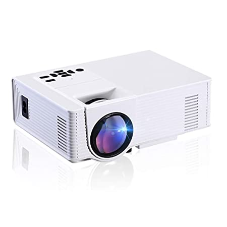 QLPP Mini proyector WiFi, proyector LED Full HD 1080P Compatible ...