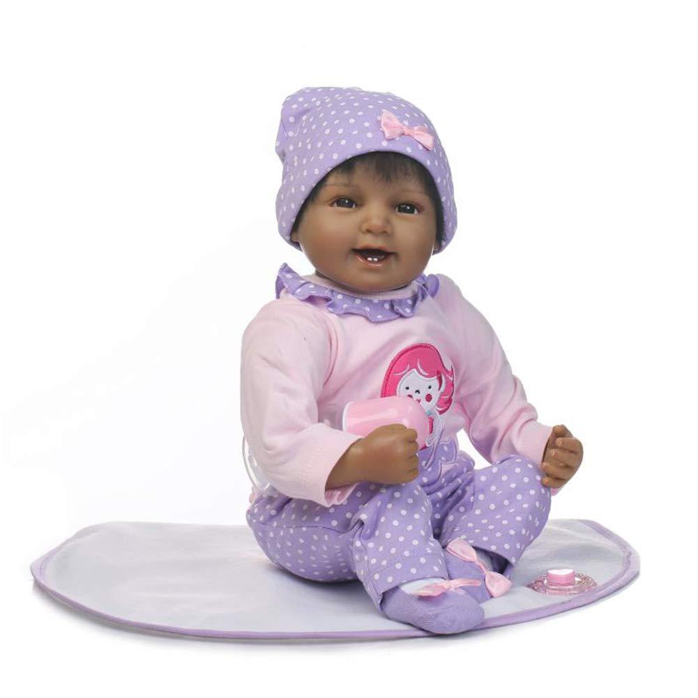 Newborn Ethnic Reborn Baby Hispanic Biracial Girl Reborn Doll Lifelike 60cm   B07BWD8CZK