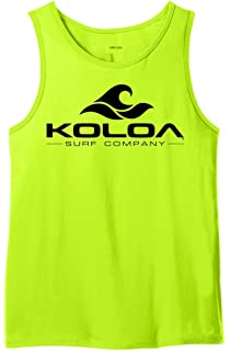 4ad05f19c1881 Amazon.com  Koloa Surf Custom Graphic Tank Tops in Sizes S-4XL  Clothing