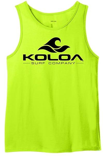 92f7f73238afc Amazon.com  Koloa Surf Co. Wave Logo Ringer Tank Tops in Sizes XS ...