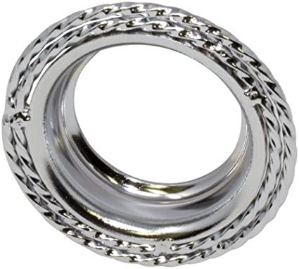 1 CHROME SQUARE TWISTED B.B CUP FOR CRANKS ON BICYCLES CRUISER LOWRIDER