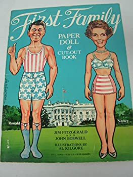 The First Family Paper Doll and Cut Out Book 0440526329 Book Cover