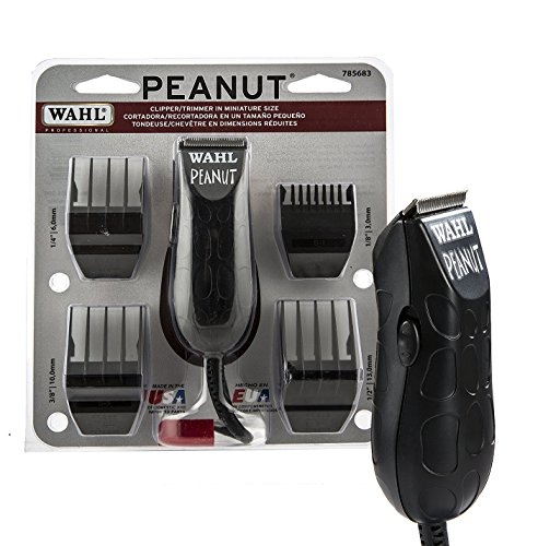 Wahl Professional Peanut Clipper/Trimmer #8655-200, Black -