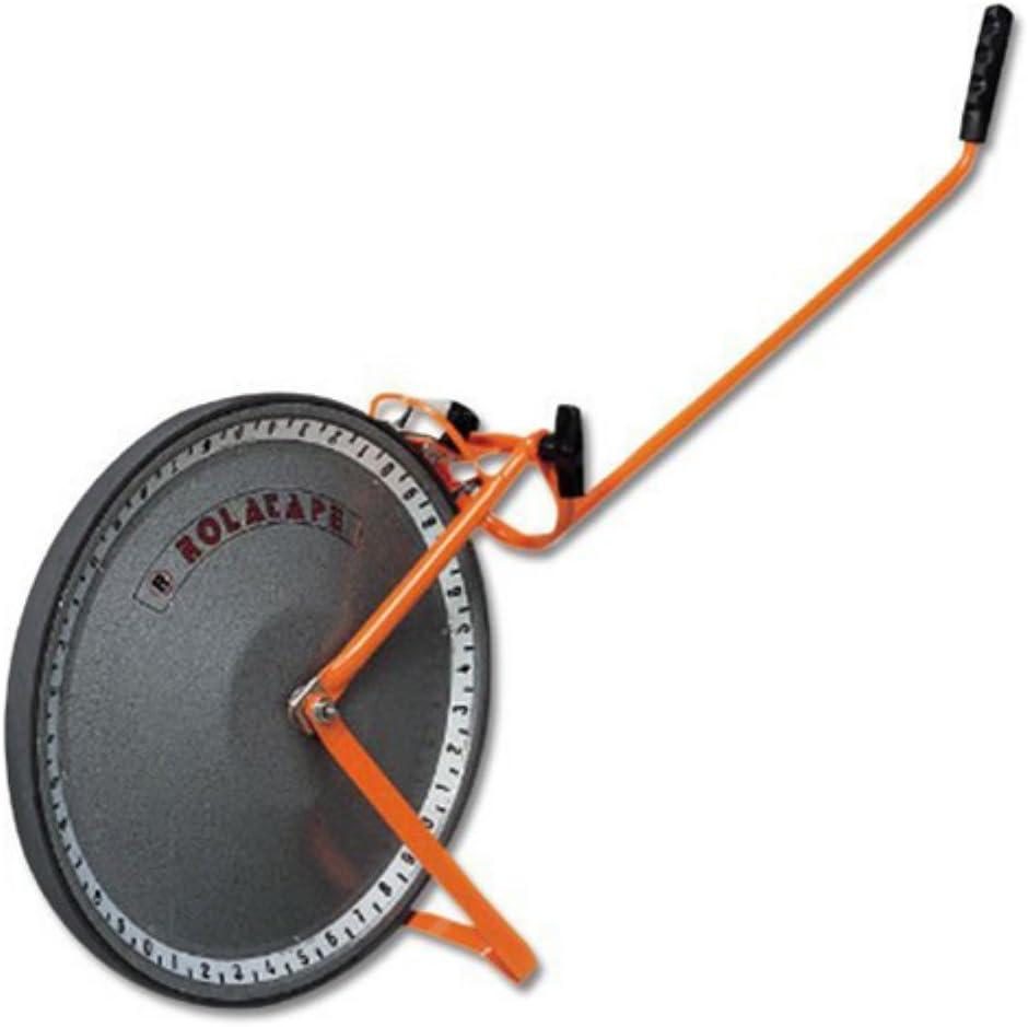 ROLATAPE 32-300S Measuring Wheel,3 ft,11-1//4 Dia,Orange