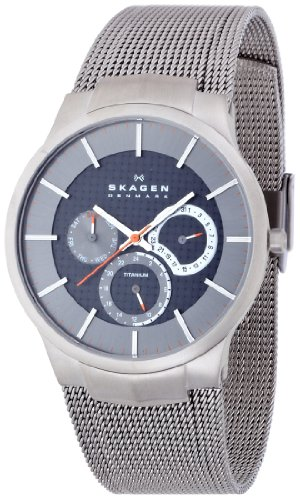 Skagen 809xlttm Titanium Mens Watch