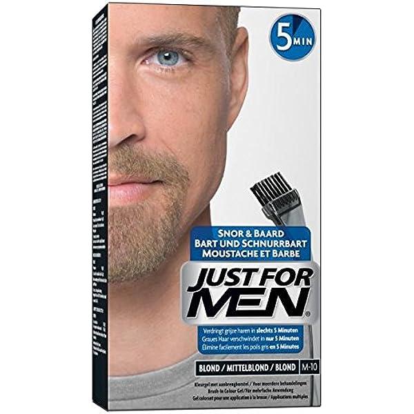 Just For Men -blond- M-10 - Coloración para barba: Amazon.es ...