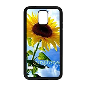 Fashion sunflower Personalized samsung galaxy s5 Case Cover