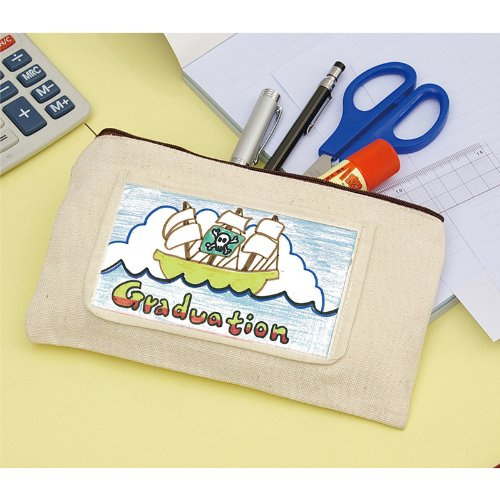 Artec Canvas Pouch with Your Own Drawing