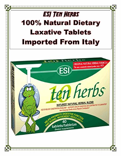 ESI Ten Herbs Buy 5 Boxes of 40 Tablets and Get 1 FREE Box (30 caps) of Ten Herbs Extra Stregnth w/Prebiotics Direct From America's ONLY IMPORTER & $AVE by Pharma Health Naturals