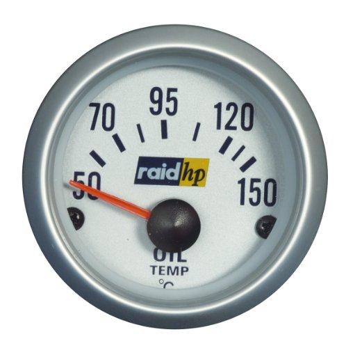 Raid HP 660221 Öltemperaturanzeige, Zusatzinstrument Silver Line