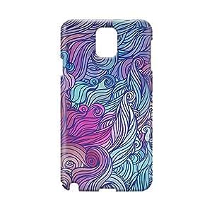Hairs Samsung Note 3 3D wrap around Case - Design 6