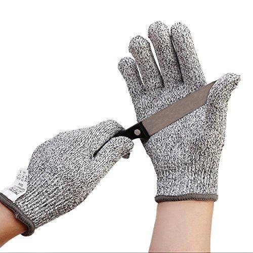 ZITFRI Schnittschutzhandschuhe für Küche - Schnittschutzklasse 5 - Hochleistung schnittfeste Schnittschutz Handschuhe (S)