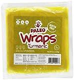 Paleo Wraps, Gluten Free Turmeric Wraps, 7-Count