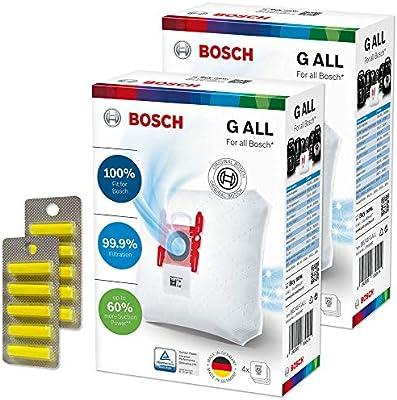 10 Ambientadores + 8 Bolsas de Aspiradora para Bosch BSGL 5ZOO ...