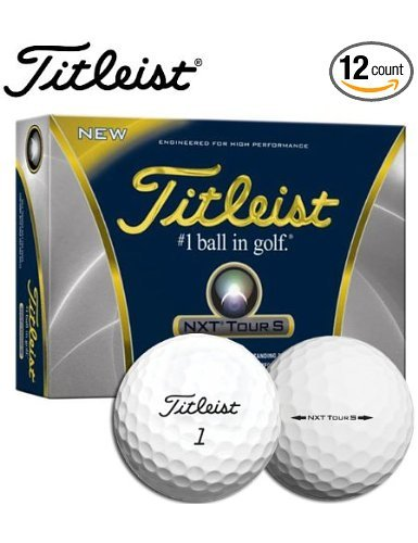 Titleist NXT Tour S Golf Ball Dozen Box