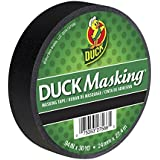 Duck Masking 240877 Black Color Masking Tape, .94-Inch by 30 Yards