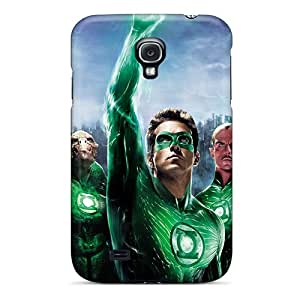 Fashionable Style Case Cover Skin For Galaxy S4- 2011 Green Lantern 3d