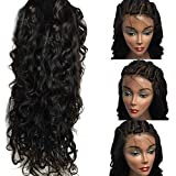 Helene Hair 8A Brazilian Virgin Hair Fashion Body Wave Nature Wave Hair Human Full Wigs Glueless Full Lace Wigs With Baby Hair 180% Density ( 22