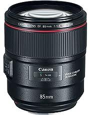 Canon EF 85 mm Portretlens, F1.4L IS USM voor EOS (vaste brandpuntsafstand, 77 mm filterdraad, autofocus, beeldstabilisator), zwart