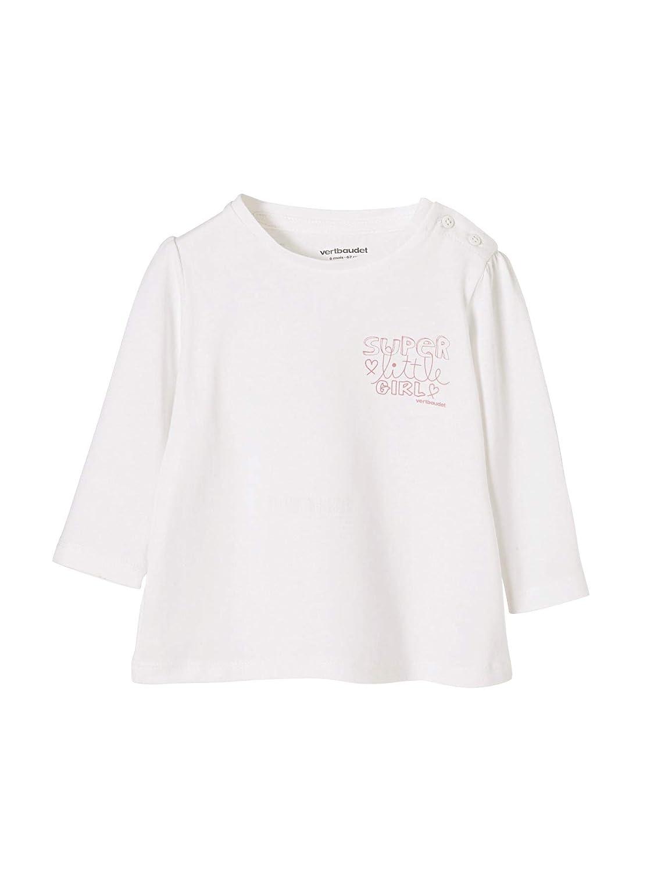 Vertbaudet T-Shirt bébé Fille Super Little Girl