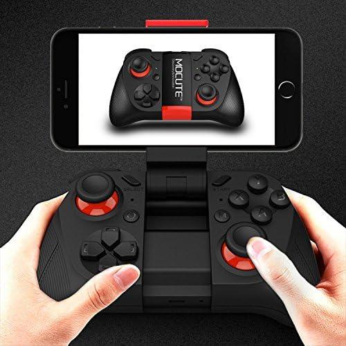 [MOCUTE]F92 スマホ固定可能 Bluetooth ゲームパッド[Black][SRPJ1666]