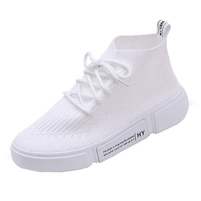 ... de Plano de Deportiva Sneakers para Caminar Walking Calzado Malla Transpirables Loafer Ligeros Mocasines Verano: Amazon.es: Zapatos y complementos