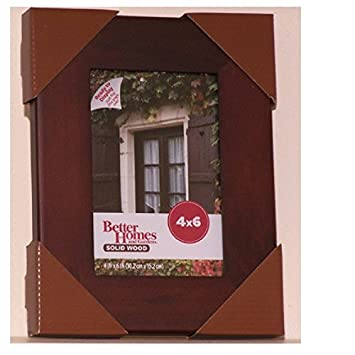 Amazoncom Better Homes and Gardens Wood 4x6 Picture Frame