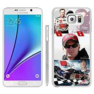 Newest Samsung Galaxy Note 5 Case ,Popular And Beautiful Designed Case With Dale Earnhardt Jr white Samsung Galaxy Note 5 Screen Cover High Quality Phone Case