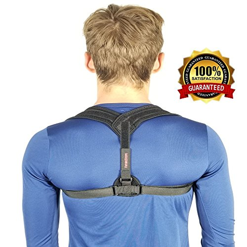 Posture Corrector | Shoulders rounded over | Correct this Now | Adjustable Posture Corrector can help now! Posture Support 15 minutes a day - Improve Posture today