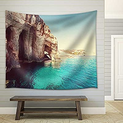 Beautiful Sea Landscapes on Zakynthos Island in Greece Fabric Wall, Created Just For You, Grand Design