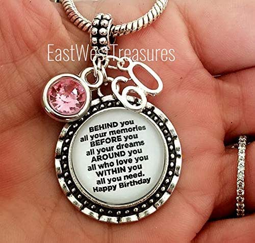 Amazon Com 60th Birthday Love Charm Bracelet And Necklace