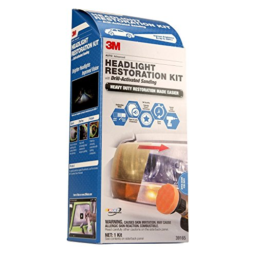 Headlight Lens Restoration Kit - 4